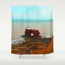 Holy Perch Shower Curtain