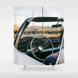 fear and loathing i Shower Curtain