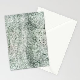 Green concrete Stationery Cards