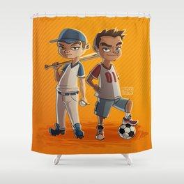 Sport Kids Shower Curtain