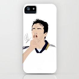 Raúl - Real Madrid iPhone Case