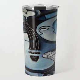 Black & Bleu Travel Mug