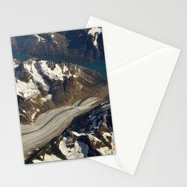 Glaciers. Stationery Cards
