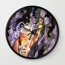 Eater of Worlds Wall Clock