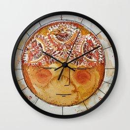 Mother Sun Wall Clock