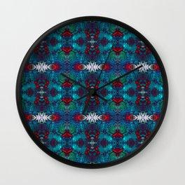 Saphire Skies  Wall Clock