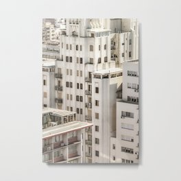Montevideo Cityscape Aerial View Metal Print