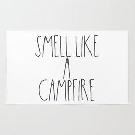 Smell Like a Campfire Rug