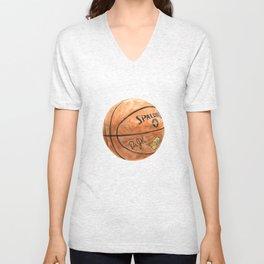 Basketball (Spalding Dr. JK) Unisex V-Neck