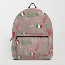 Italian pattern, bright version Backpack