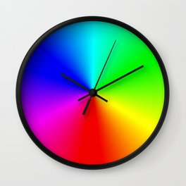 Colorwheel Wall Clock