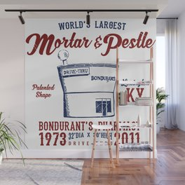 Worlds Largest Mortar and Pestle Lexington Kentucky Wall Mural