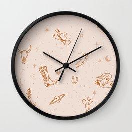 Cowboy Things Wall Clock