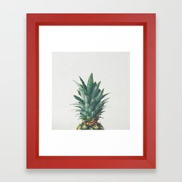 Pineapple Top Framed Art Print