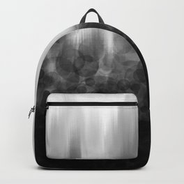 B&W Spotted Blur Backpack