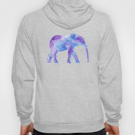 Watercolor Elephant Hoody