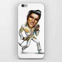 elvis presley iPhone & iPod Skins featuring Elvis Presley by sergo