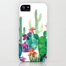 Blooming Desert iPhone Case