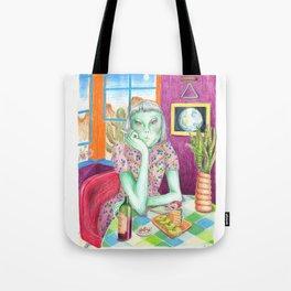 Angel / Alien Tote Bag