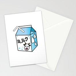 Kawaii Milk Carton Stationery Cards