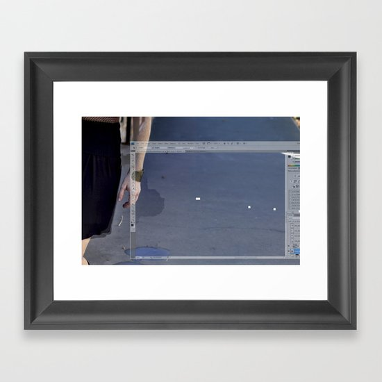 Son, someday you'll understand. Framed Art Print