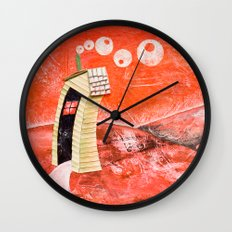The tale's little house Wall Clock