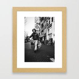 Haul sack. Framed Art Print
