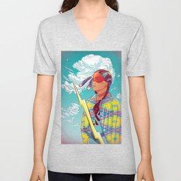 Thunder Woman Unisex V-Neck