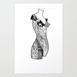 mannequin2 Art Print