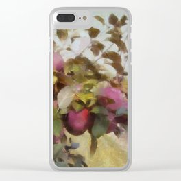 Apple Orchard Haze Clear iPhone Case