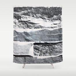 Arctic Stone Shower Curtain