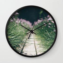 Chive Field Wall Clock