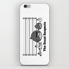 The Usual Suspects - Angry Birds Parody iPhone & iPod Skin