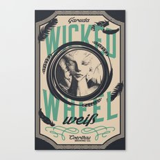Wicked Wheel Weiß  | FFXIV Canvas Print