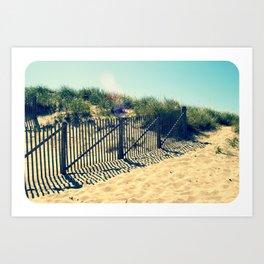 Polaroid Dune - Provincetown Art Print