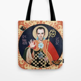 Saint Nicolas of Cage Tote Bag