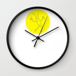 Jazz hands Wall Clock