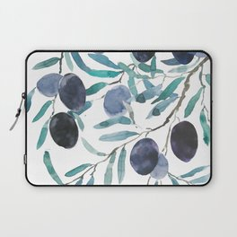 black olive watercolor 2018 Laptop Sleeve
