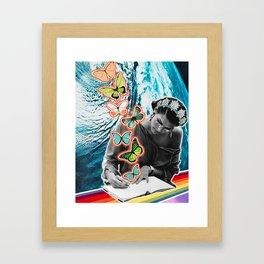 Dear Future Self Framed Art Print