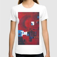 ballon T-shirts featuring Red ballon by Nathalie Gribinski