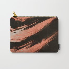 Nikee, Abstract, Orange Flamengo Carry-All Pouch
