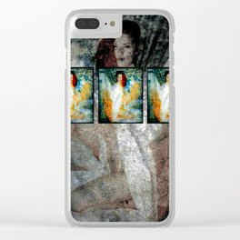 3WISHES Clear iPhone Case