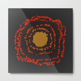 Tunnel Nebula Metal Print