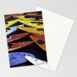 Kayaks Stationery Cards