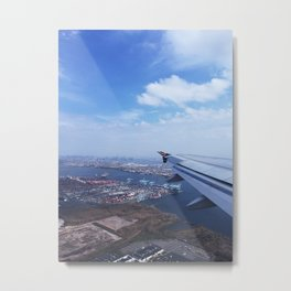 Newark Flight Metal Print
