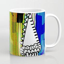 Peaks Glitch Coffee Mug