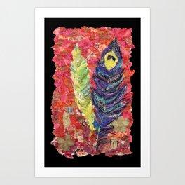 Feathers III Art Print