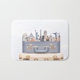 Travel Luggage Bath Mat