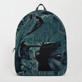 Digital Curving Backpack