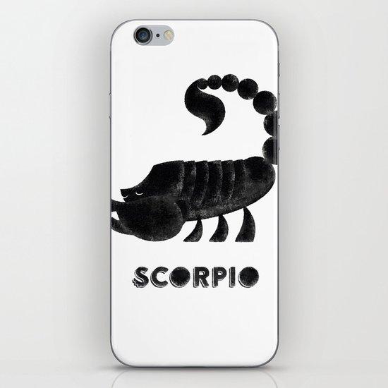 Scorpio iPhone & iPod Skin
